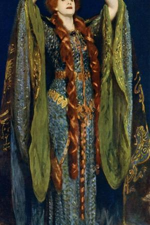Miss Ellen Terry as Lady Macbeth, 1906 by John Singer Sargent