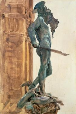 Perseus, Florence by John Singer Sargent