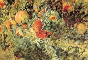 Pomegranates, 1908 by John Singer Sargent