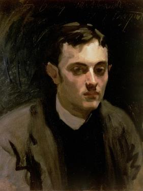 Portrait of Albert De Belleroche by John Singer Sargent
