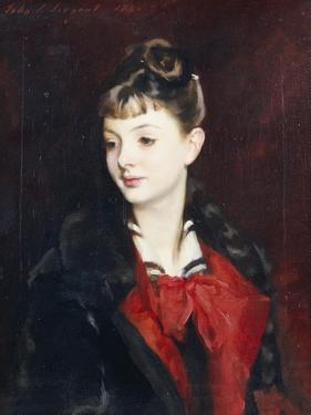 Portrait of Madamoiselle Suzanne Poirson, 1884 by John Singer Sargent