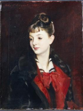Portrait of Mademoiselle Suzanne Poirson, 1884 by John Singer Sargent