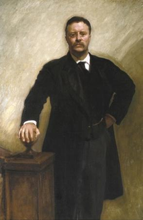 President Theodore Roosevelt by John Singer Sargent
