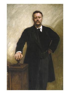 President Theodore Roosevelt by John Singer Sargent