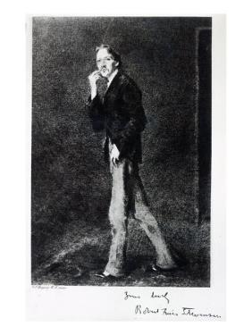 Robert Louis Stevenson by John Singer Sargent