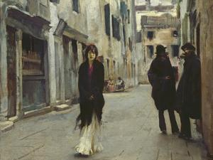 Street in Venice, 1911 by John Singer Sargent