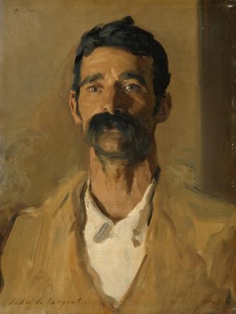 Study of a Sicilian Peasant, 1907