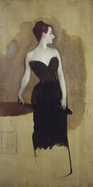Study of Mme Gautreau by John Singer Sargent