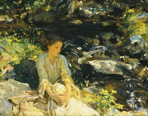 The Black Brook by John Singer Sargent