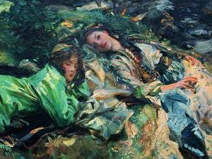 The Brook by John Singer Sargent