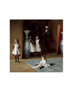 The Daughters of Edward Darley Boit, c.1882 by John Singer Sargent