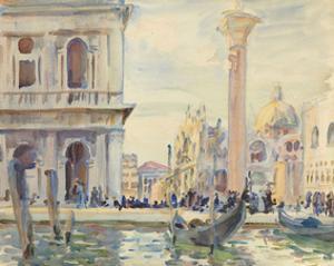 The Piazzetta, c. 1911 by John Singer Sargent