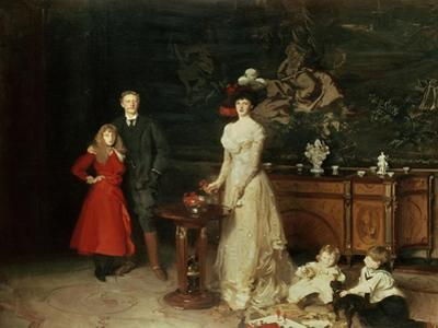 The Sitwell Family, 1900 by John Singer Sargent
