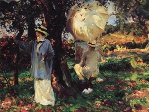 The Sketchers, 1914 by John Singer Sargent