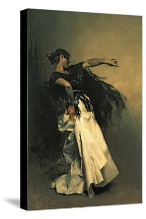 """The Spanish Dancer, Study for """"El Jaleo,"""" 1882 by John Singer Sargent"""