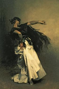 "The Spanish Dancer, Study for ""El Jaleo,"" 1882 by John Singer Sargent"