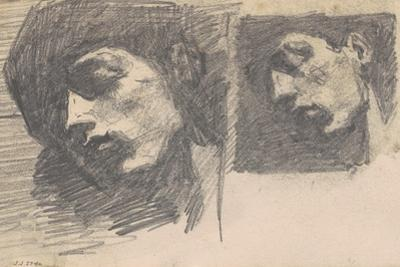 Two Heads, 1875-80 by John Singer Sargent