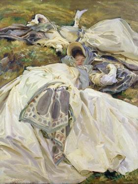 Two White Dresses, 1911 by John Singer Sargent