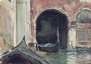 Venetian Canal by John Singer Sargent