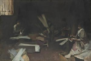 Venetian Glass Workers, 1880-82 by John Singer Sargent