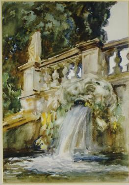 Villa Torlonia, Frascati, 1907 by John Singer Sargent