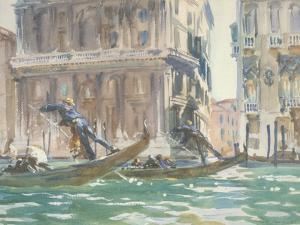 Vue de Venise (sur le canal), vers 1906 by John Singer Sargent
