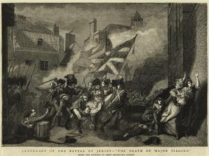 Centenary of the Battle of Jersey, The Death of Major Pierson by John Singleton Copley