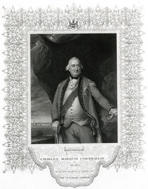 Charles Lord Cornwallis by John Singleton Copley