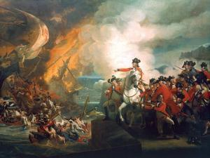 Defeat of the Floating Batteries at Gibraltar, 1782 by John Singleton Copley