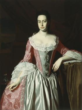 Eunice Dennie Burr, 1758-60 by John Singleton Copley