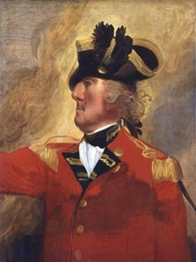 George Augustus Eliott, 1st Baron Heathfield by John Singleton Copley