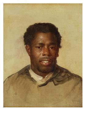 Head of a Negro, c.1777-78 by John Singleton Copley