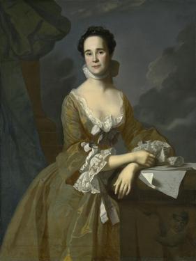 Mrs. Daniel Hubbard (Mary Greene), C.1764 by John Singleton Copley