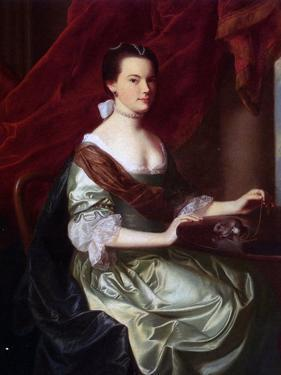 Mrs Theodore Atkinson Jr. by John Singleton Copley