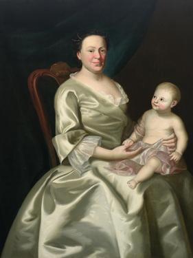 Portrait of Mrs Daniel Rea and Child, 1757 by John Singleton Copley
