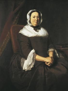 Portrait of Mrs. Samuel Hill by John Singleton Copley