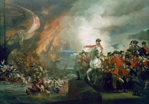 The Defeat of the Floating Batteries at Gibraltar, September 1782, 1783-91 by John Singleton Copley