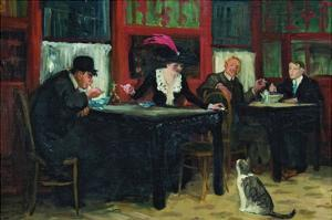 Chinese Restaurant by John Sloan