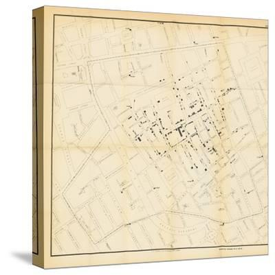 A Map from 'On the Mode of Communication of Cholera', 1855