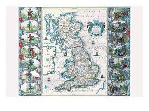 Britannia by John Speed