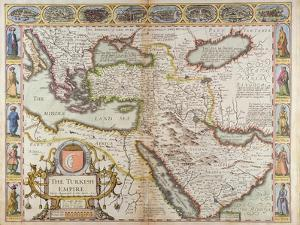 The Turkish Empire, from 'A Prospect of the Most Famous Parts of the World' by John Speed