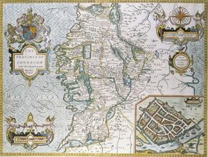 The Province of Connaugh Map by John Speede