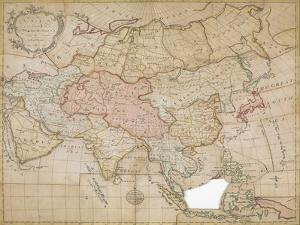 Asia in its Principal Divisions, London, 1767 by John Spilsbury
