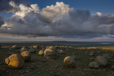 Spherical Stones in Western Kazakhstan Near the Village of Shetpe by John Stanmeyer