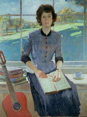 Portrait of a woman at a window, 1993 by John Stanton Ward