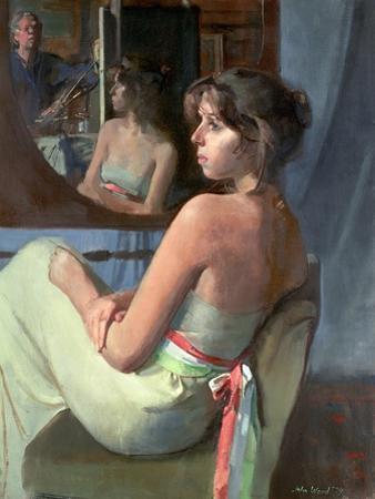 Stephanie in Profile, 1979 by John Stanton Ward