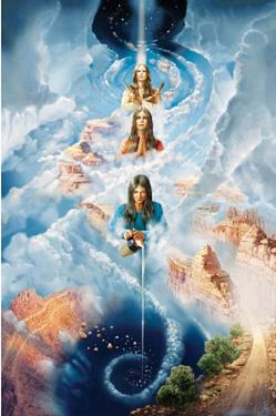 John Stephens (Navajo Creation Myth) Art Poster Print