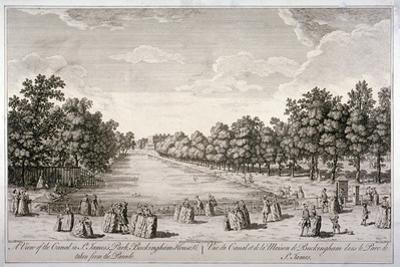 The Canal in St James's Park, Westminster, London, C1740
