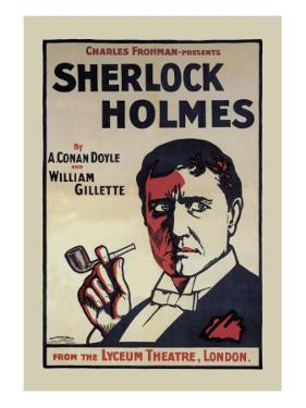 Sherlock Holmes: The Lyceum Theatre, London by John Stewart Browne