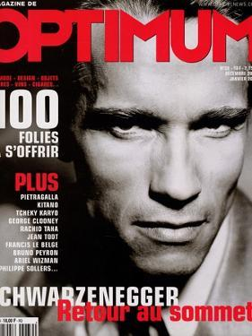 L'Optimum, December 2000-January 2000 - Arnold Schwarzenegger by John Stoddart